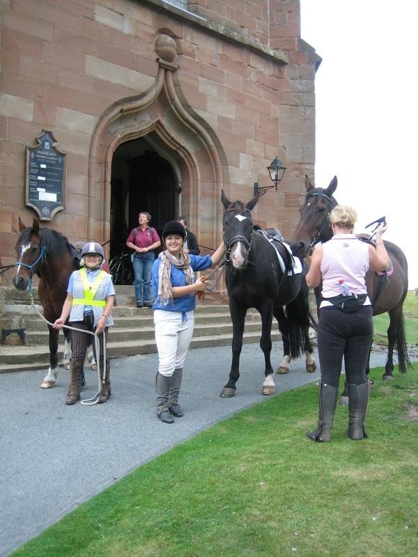 Historic churches stride & ride